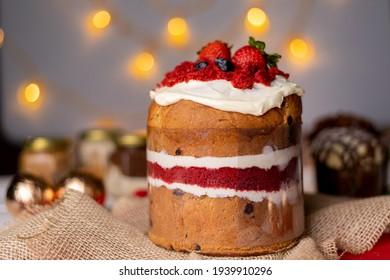 Christmas Sweets - Panetone red velvet