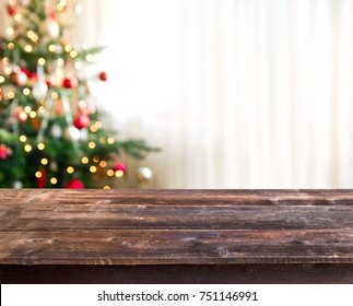 christmas table background