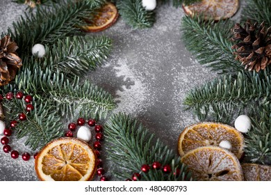 a christmas tale the frame of the treesthemes christmas decorations fir cones - Christmas Tale