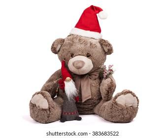 Christmas Bear.Christmas Teddy Bear Images Stock Photos Vectors