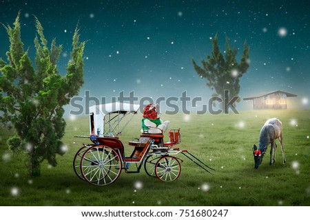 Teddy Bear Sleigh Ride  2 (Sunshine Forest)