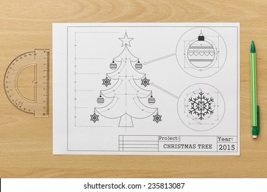 Christmas Tree Blueprint