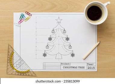 Christmas Tree Blueprint