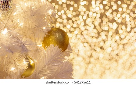 christmas tree with bright blurred bokhe on the background, celebrating christmass, happiness, new year, gifts, joys