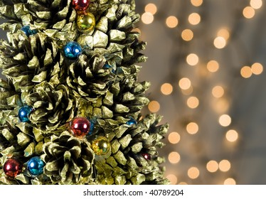 Christmas Tree Decorations Background