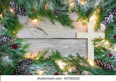 Religious Christmas Border Images Stock Photos Vectors