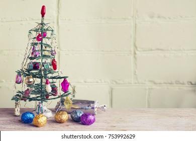 Christmas Tree with Gifts,Christmas concept.