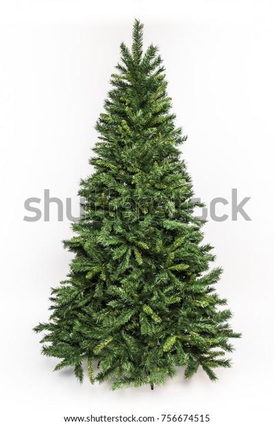 Christmas tree isolated - Christmas decoration - Christmas tree