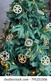 Christmas tree in loft room