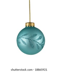 christmas tree ornament isolated on white background. FIND MORE christmas ornaments in my portfolio