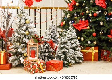 christmas tree presents and gifts for children