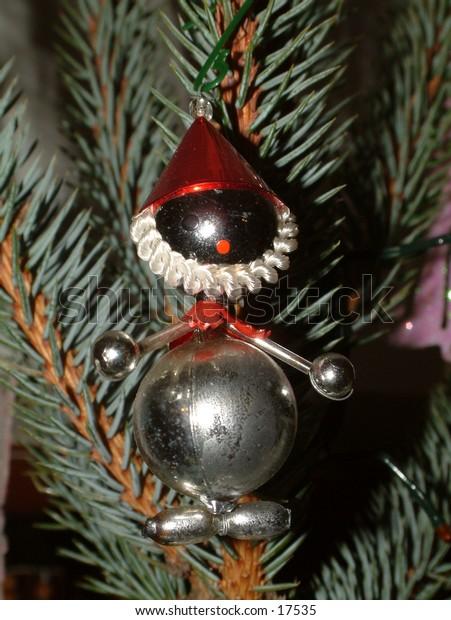 christmas tree santa claus