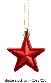 Christmas tree star decoration