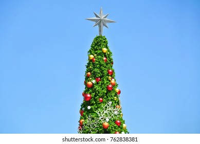 Christmas Tree Top with Star