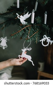 Christmas tree toys. Christmas decorations