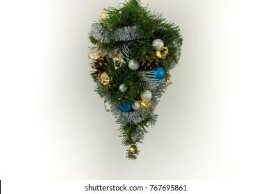 Christmas tree - upside down