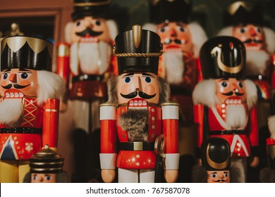 Christmas wooden Nutcracker