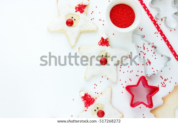 Christmas Xmas New Year Baking Concept Stock Photo Edit Now 517268272