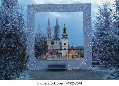 Christmas in Zagreb. Croatia.