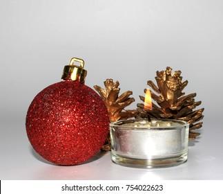 Christmash candle decoration II