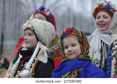 christmas,kiev,celebration,ukraine,star,children,traditions,folklore,procession,national costume,sofia kiev