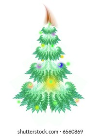 christmas-tree card