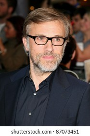 Christoph Waltz arriving for the UK film premiere of Water For Elephants, at Vue Westfield, west London. 03/05/2011  Picture by: Alexandra Glen / Featureflash