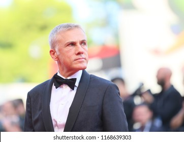 Christoph Waltz walks the red carpet ahead of the opening ceremony during the 75th Venice Film Festival at Sala Grande on August 29, 2018 in Venice, Italy.