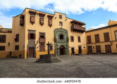 Christopher Columbus house, in Las Palmas de Gran Canaria. Spain.
