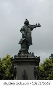 Christopher Columbus'statue in Santo Domingo - Dominican Republik