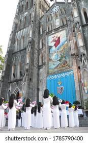 Chritmas Celemony at  Hanoi St. Joseph Church in Vietnam