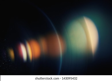 Chromatic aberration in the lens. Macro, high ISO