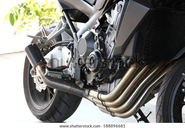 chrome exhaust pipe  accessory design for big bike motorcycle