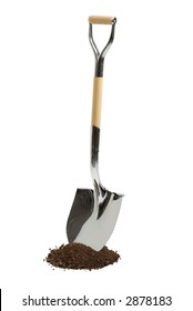 Chrome Ground Breaking Shovel