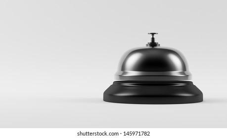 Chrome Hotel Bell