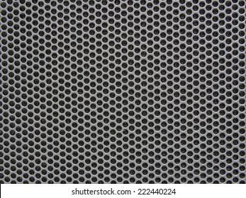 chrome metal texture