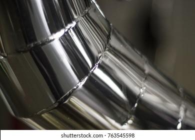 a chromed iron tube