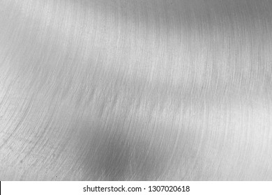 Chromed metal background. Silver steel