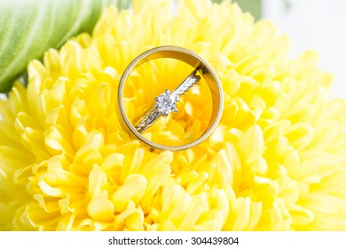 chrysanthemums and the wedding ring