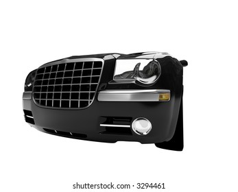 Chrysler 300 front view 02