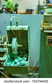 Chrysocolla workshop equipment