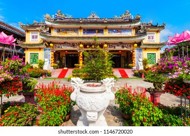 Chua Phap Bao Pagoda in the Hoi An ancient town in Quang Nam Province of Vietnam