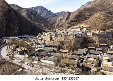 Chuandixia, Hebei province, China: this ancient and picturesque Ming Dynasty village nestled among the mountains is not far from Beijing