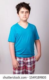 Boy chubby Little Boy