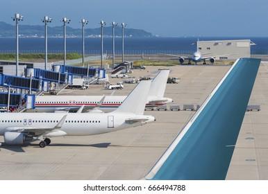 Chubu Centrair International Airport in Nagoya, Japan