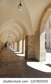 Chuch Vault Arch Corridor in Vienna