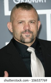 Chuck Liddell  at the 51st Annual GRAMMY Awards. Staples Center, Los Angeles, CA. 02-08-09