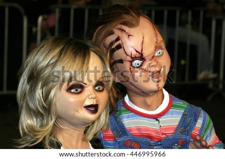 chucky tiffany los angeles premiere seed stock photo edit now