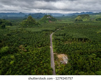 Chumphon province, Thailand. Beautiful landscape