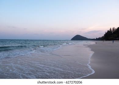 Chumphon sea